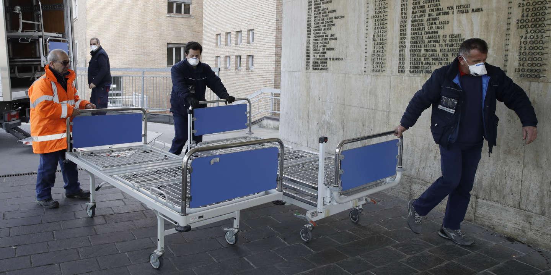 Forte inquiétude en Italie face à l'épidémie de coronavirus