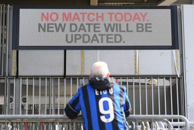 Le match retour des 16e de finale de Ligue Europa entre l'Inter Milan et Ludogorets se disputera jeudi 27 février à huis clos.