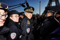 Le préfet de police, Didier Lallement, le 30 décembre 2019, à Paris.