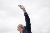Le sénateur du Vermont, Bernie Sanders, le 23 février, à Austin (Texas)
