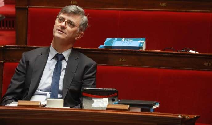Jacques Maire, à l'Assemblée nationale, à Paris, le 24 février.