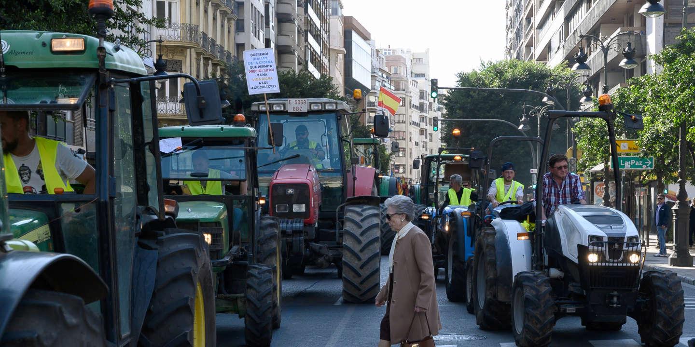 En Espagne, les agriculteurs sont à bout
