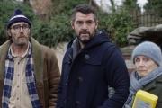 De gauche à droite:Philippe Rebbot, Arnaud Ducret et Hélène Vincent dans«Mine de rien».