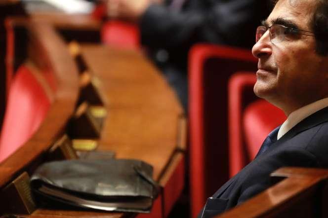 Christian Jacob, le président du parti Les Républicains, à l'Assemblée, le 24 février.