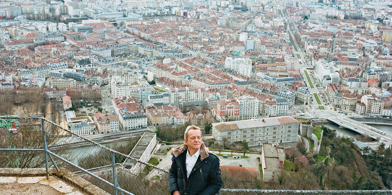 Alain Carignon à la Bastille de Grenoble le 14/02/2020