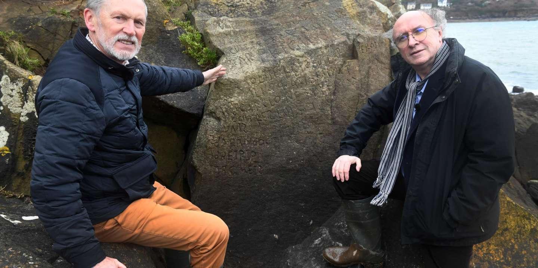 Dans le Finistère, une mystérieuse inscription sur un rocher enfin dévoilée