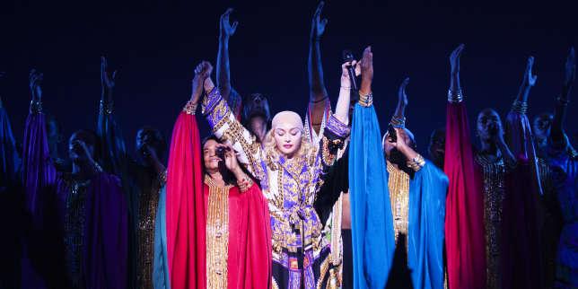 A Paris, Madonna déploie les grands moyens dans l'intimité du Grand Rex