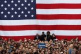 Venus par milliers, les partisans de Bernie Sanders veulent croire à sa nomination, à Austin (Texas), le 23 février.