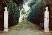 Le jardin de la Villa Médicis, accessible aux visiteurs et aux pensionnaires.