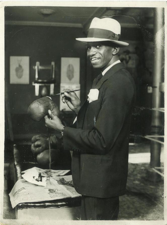 Panama Al Brown (1902-1951), boxeur panaméen.