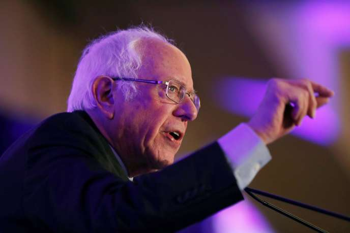 Bernie Sanders à Charleston, en Caroline du Sud, lundi 24 février.