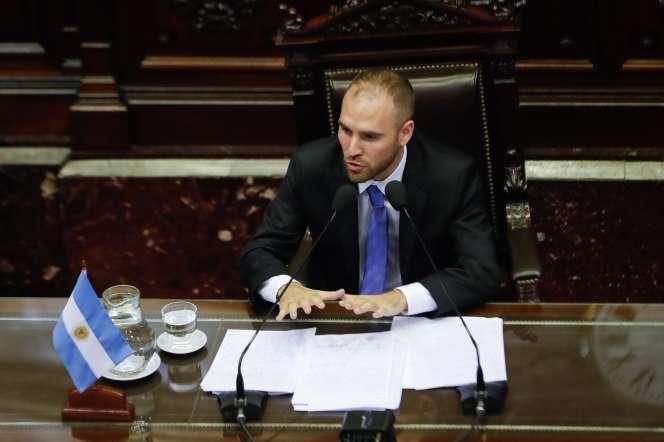 Martin Guzman, le 12 février, à Buenos Aires.