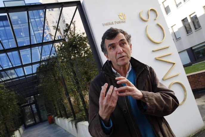 Arnaud Fontanet, directeur de l'unité d'épidémiologie des maladies émergentes à l'Institut Pasteurà Paris, le 6 février.