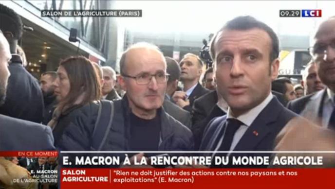 """Résultat de recherche d'images pour """"macron salon figurants"""""""