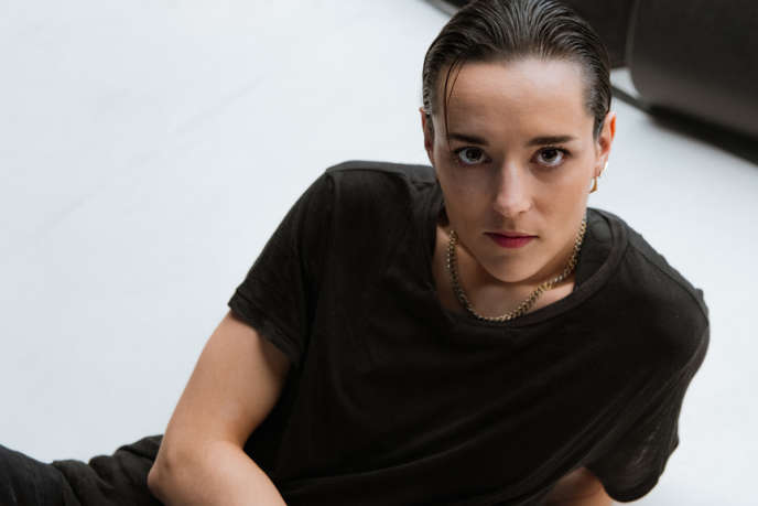 L'actrice et chanteuse rock Jehnny Beth.