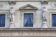 Façade du bâtiment de la Cour de cassation, à Paris