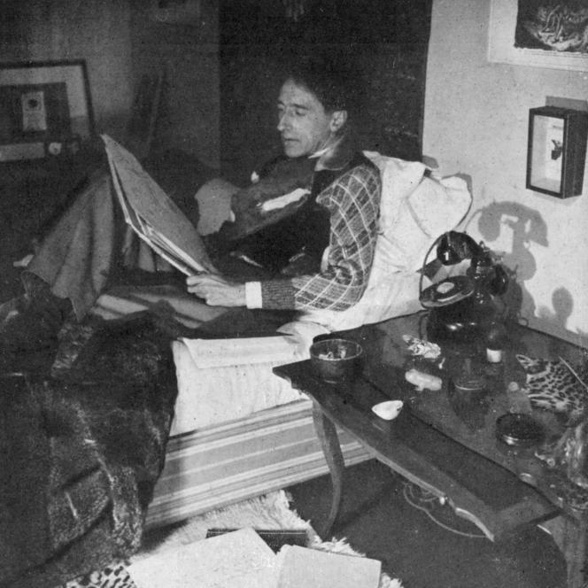 Jean Cocteau (1889-1963), en 1941.