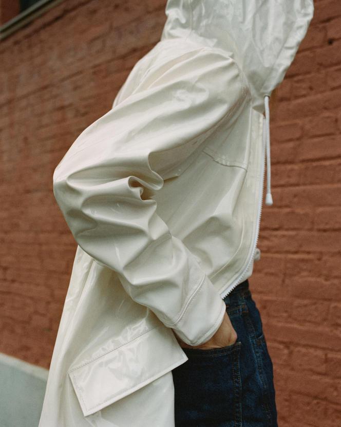 Ciré en polyuréthane et en polyester, Armor Lux, 135 €.