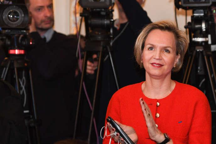 Virginie Calmels, en février 2019, à Bordeaux.