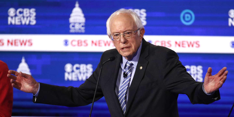 Primaires démocrates : Bernie Sanders résiste aux attaques lors du dixième débat