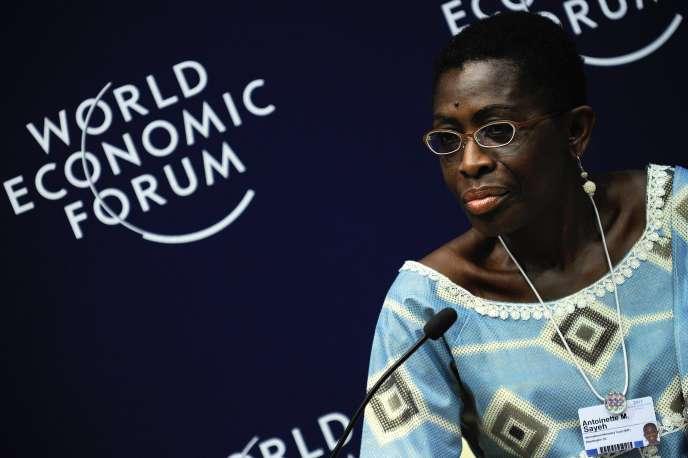 La Libérienne Antoinette Sayeh, le 6 mai 2011 à Cap Town, en Afrique du Sud.