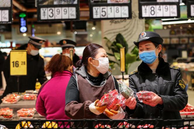 Le 20 février, à Huaibei (Anhui), en Chine.
