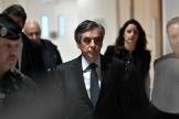 Francois Fillon, à son arrivée au tribunal de Paris, le 24 février.