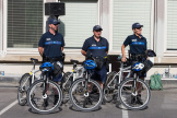 Des agents de la police municipale parisienne, en juillet 2019.