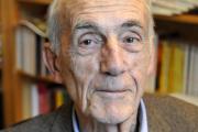 L'écrivain Bernard Pingaud, en février 2009.