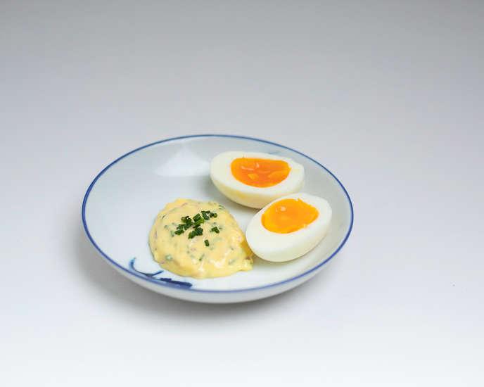Les oeufs mayonnaise de Gwilherm de Cerval.
