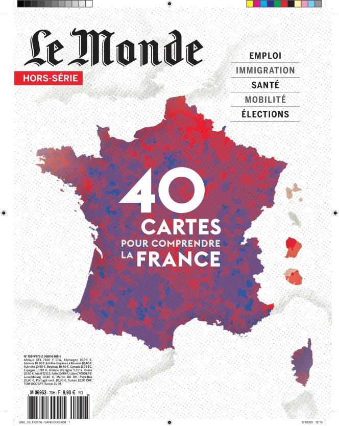 « 40 cartes pour comprendre la France» est un hors-série publié par «Le Monde». En kiosque dès le 27 février 2020.