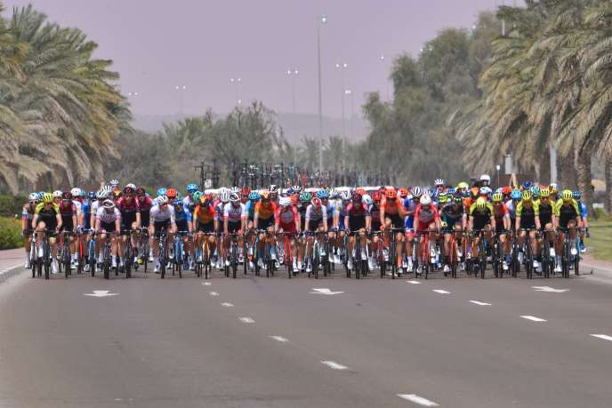 La course UAE Tour a été écourtée à deux jours de l'arrivée.