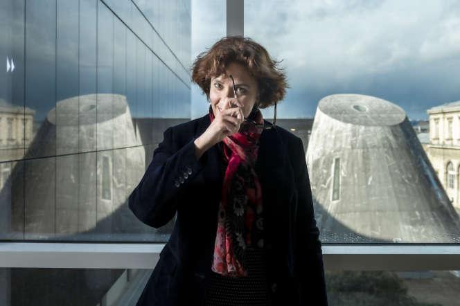 Emilie Delorme, directrice du Conservatoire national supérieur de musique et de danse de Paris (CNSMDP), le 26 février, à Paris.