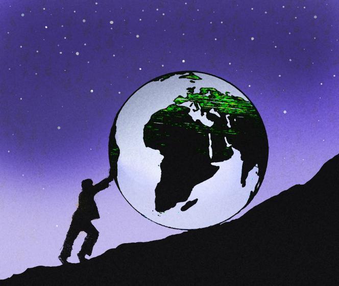 « La conclusion inhérente à toute pensée écologique, c'est que l'économie actuelle est néfaste pour la planète, car une économie mondiale de la croissance continue exige l'équivalent des ressources de quatre planètes, et que nous n'en avons qu'une à notre disposition.»