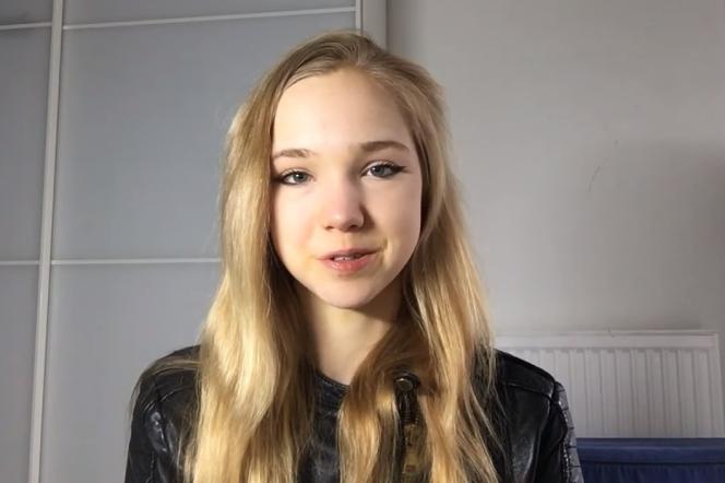 Naomi Seibt, dans l'une de ses vidéos.