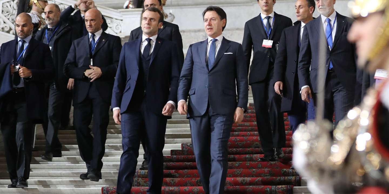 A Naples, un sommet franco-italien de réconciliation sur fond d'épidémie