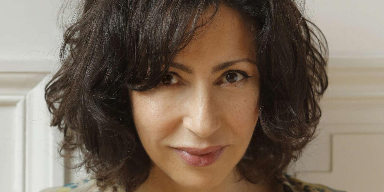 Yasmina Reza, ecrivain, metteur en scene.  Photos realisees en mai 2014. (photo by Pascal Victor/ArtComArt)
