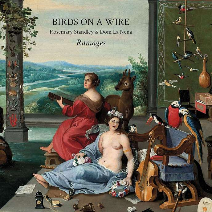Pochette de l'album« Ramages», du duo Birds on a Wire.