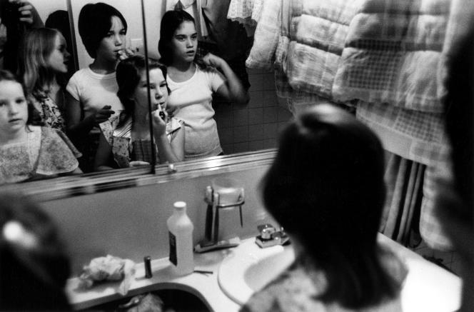 A New York, en 1976.