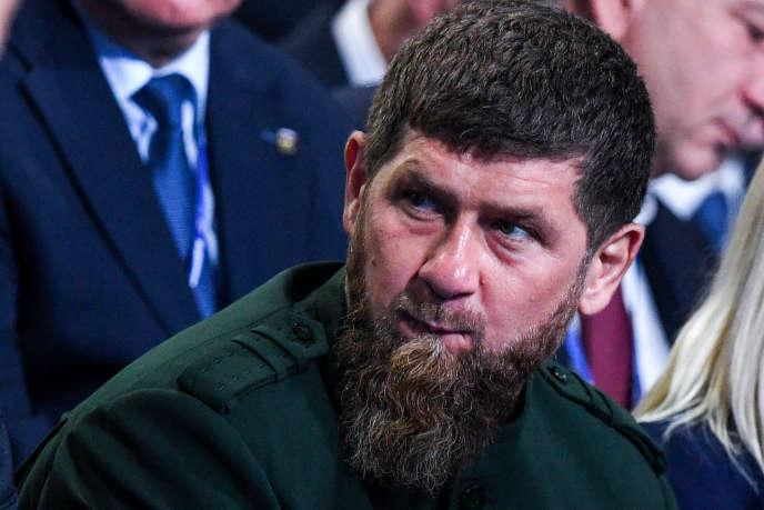 Le dirigeant tchétchène, Ramzan Kadyrov, le 8 décembre 2018 à Moscou.