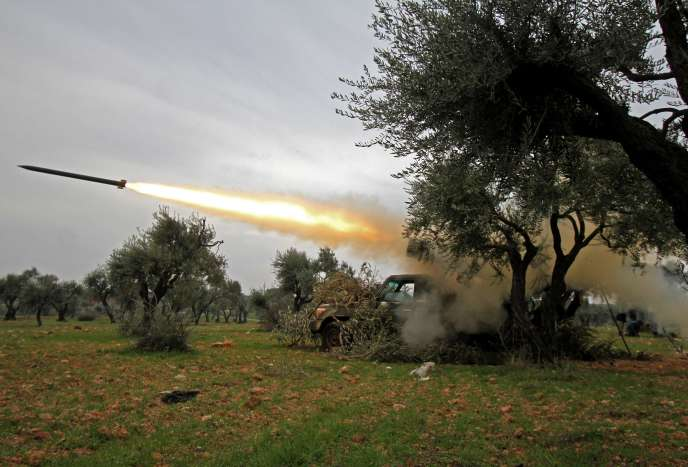 Dans le nord-est de la province d'Idlib.