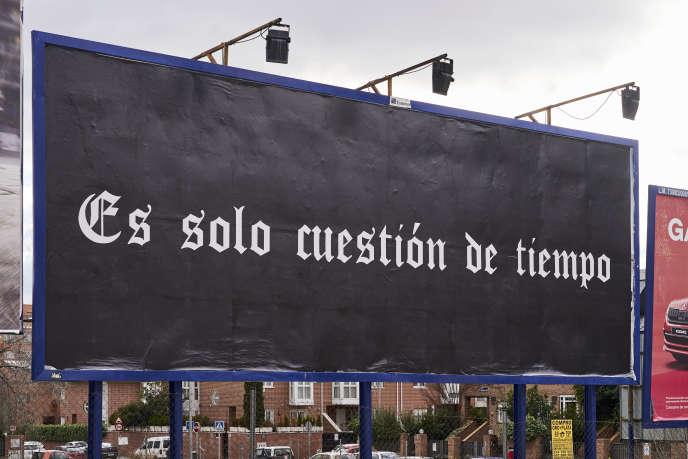 L'une des sections de l'Arco, intitulée «C'est juste une question de temps», a été imaginée par l'artiste Alejandro Cesarco.