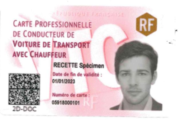 A partir du 1er mars, ésormais, les conducteurs de VTC doivent apposer sur leur véhicule leur carte professionnelle sécurisée, dotée d'un QR code.