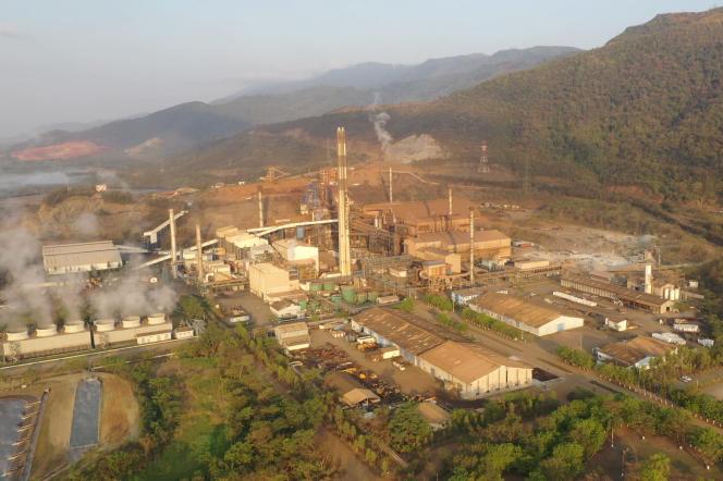La mine de nickel Fenix, au Guatemala.