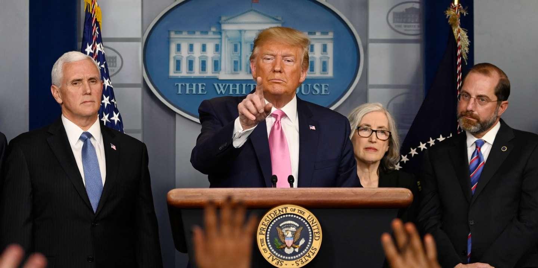 Donald Trump choisit de politiser la menace de l'épidémie de Covid-19