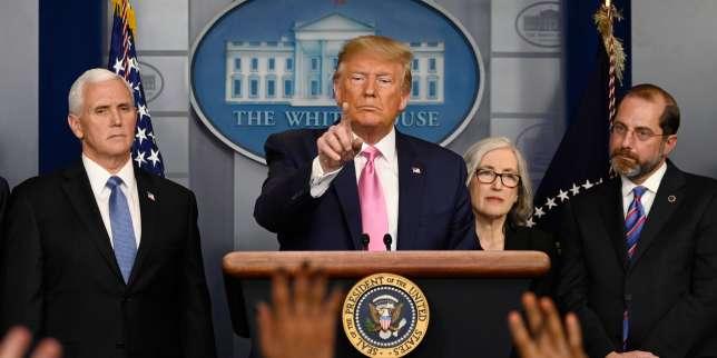 Coronavirus : Donald Trump choisit de politiser la menace de l'épidémie aux Etats-Unis