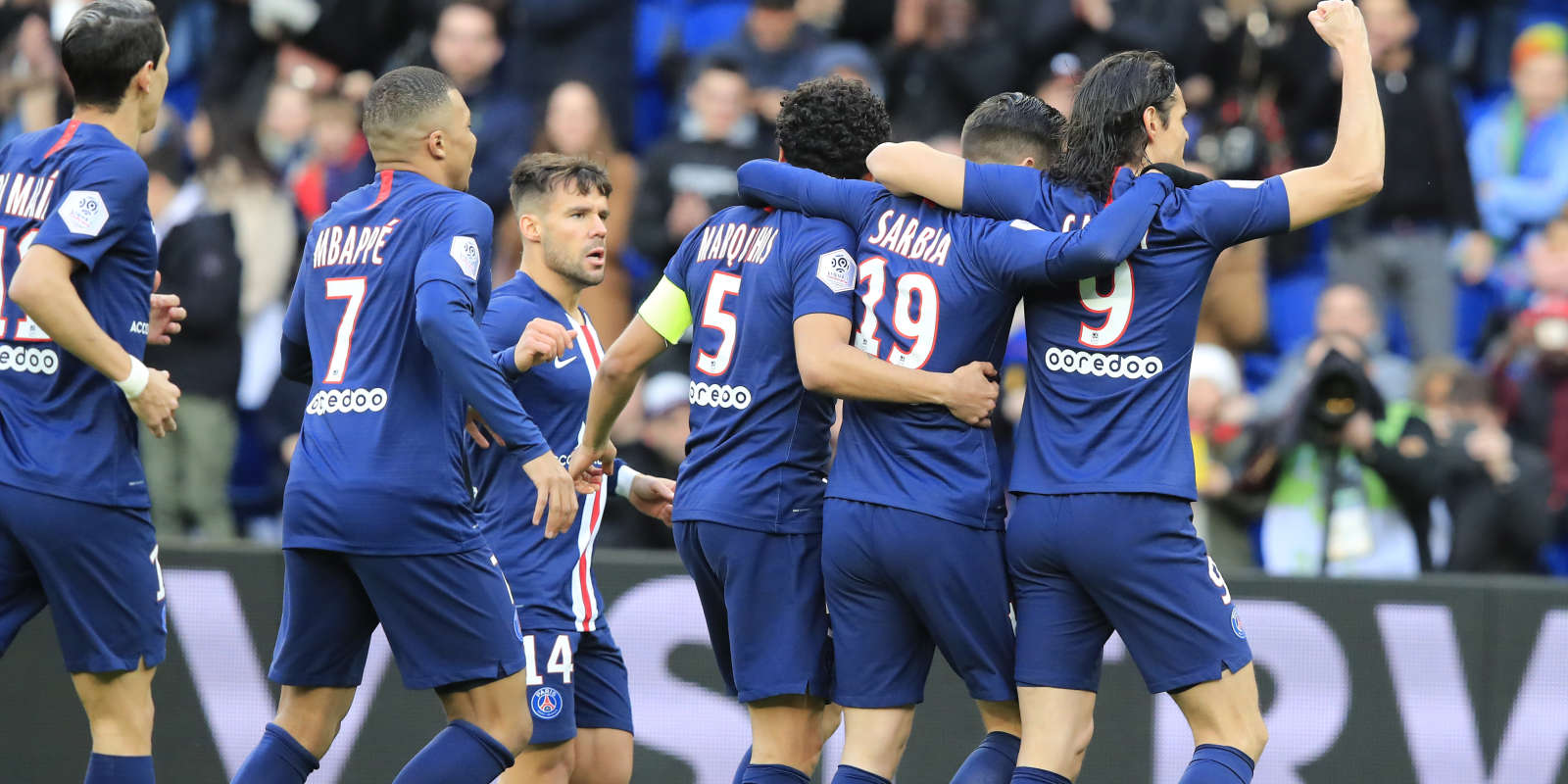 Pedro Sarabia a ouvert le score face à Dijon.