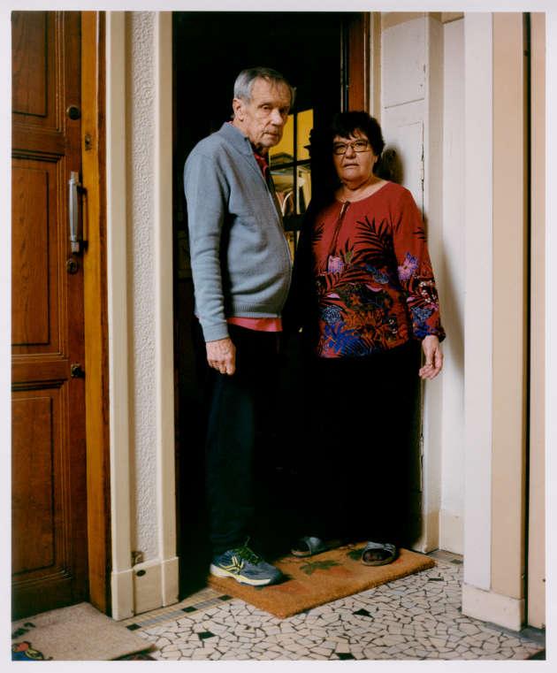 M. et Mme Marteau, dans le quartier Bel-Air, Paris 12e.