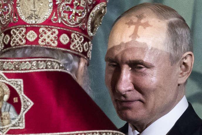 Le président russe, Vladimir Poutine, à Moscou, le 28 avril 2019.