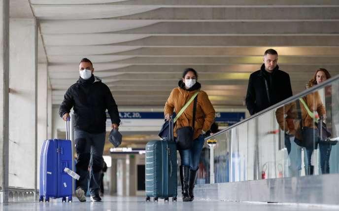 A l'aéroportCharles de Gaulle, à Paris, le 29 février.